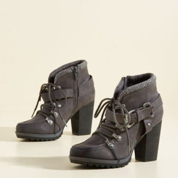 Tread the Word Bootie | Mod Retro Vintage Boots | ModCloth.com
