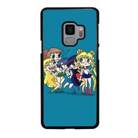 SAILOR MOON FUNNY Samsung Galaxy S4 S5 S6 S7 S8 S9 Edge Plus Note 3 4 5 8 Case Cover