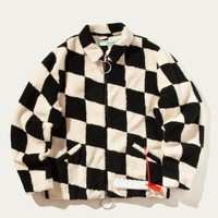 Patchwork Work Jacket