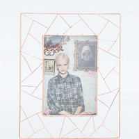 Geometric Copper Frame - Urban Outfitters