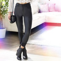 Don't Hold Back Jeggings in Black Produced By SHOWPO