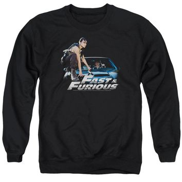 Fast And The Furious - Car Ride Adult Crewneck Sweatshirt