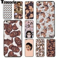 Yinuoda For iphone 7 6 X Case Kimoji Kim Kardashian kanye west north kylie jenner Phone Case for iPhone 8 6S Plus X 5 5S SE 5C