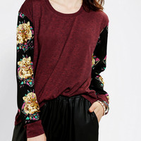 Urban Outfitters - Lucca Couture Print Sleeve Shirt