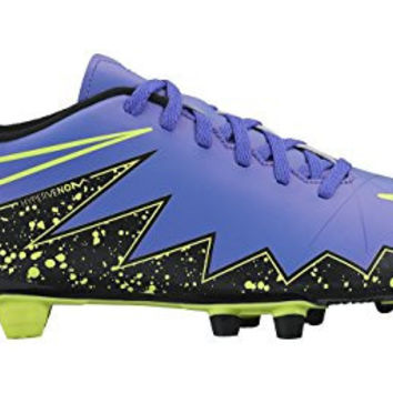 Nike Men's Hypervenom Phade II Fg Hyper Grape/Hypr Grape/Blk/Vlt Soccer Cleat 11 Men US