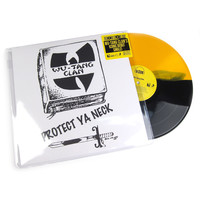 "Wu-Tang Clan: Protect Ya Neck (Split Colored Vinyl) Vinyl 12"" (Record Store Day)"