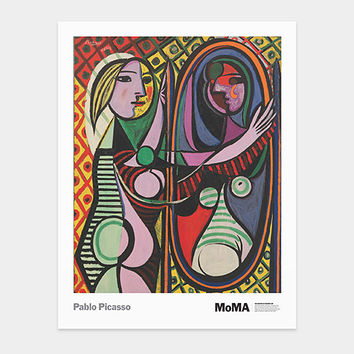 Picasso: Girl Before a Mirror