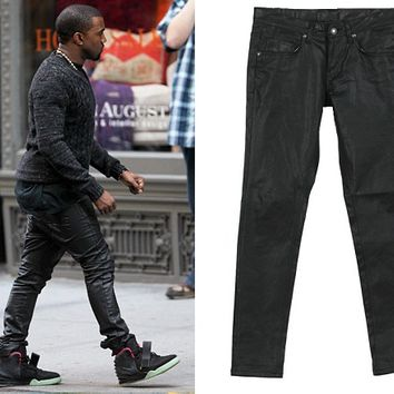 Indie Designs Kanye West Favourite Waxed Denim