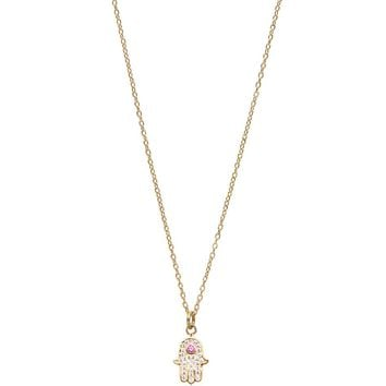 Skyfall Gold Hamsa Hand Necklace