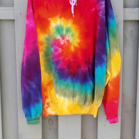 The perfect rainbow tie dye Hoodie, tumblr, grunge