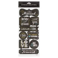 Chalk Wedding Stickers | Hobby Lobby | 418236