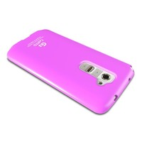 Baby Pink LG G2 TPU Gel Case Cover [Anti Slip] with FREE! Premium Anti-Scratch Screen Protector; Best Design with High Quality; Coolest Soft Silicone Rubber Case Cover for G2 (Release Date) Supports LG Devices From AT&T, Sprint, and T-Mobile