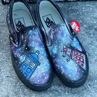 Doctor Who Lost in space Vans, Toms, or Keds (SPECIAL EDITION W/Dalek)