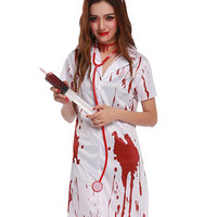 Blood Print Cosplay Costume