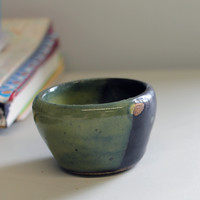 Little Green and Black Pot