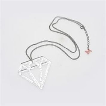 Marina and the Diamonds Scribble Necklace. Buy online, http://www.marinaandthediamonds.com/