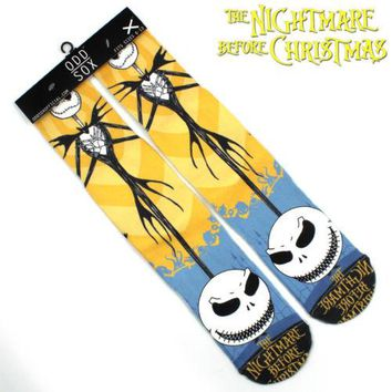 """4x16"""" The Nightmare Before Christmas Jack Short Cotton Socks Colorful Stockings Tights Cosplay Costume Unisex Fashion Gifts Cool"""