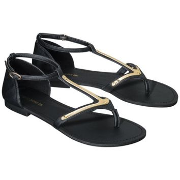 Women's Mossimo Supply Co. Walker Sandal - Black