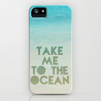 take me to the ocean iPhone & iPod Case by Sylvia Cook Photography