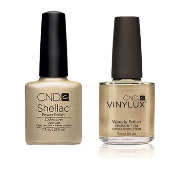 CND - Shellac & Vinylux Combo - Locket Love