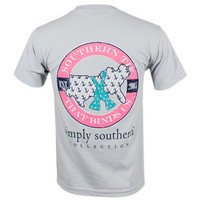 Simply Southern Map T-Shirt - Grey