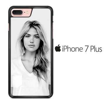 Kate Upton B&W iPhone 7 Plus Case