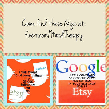 Find these Gigs at fiverr.com/MoodTherapy