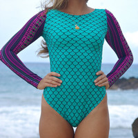 KAHAKULOA: Surf Suit One Piece Bathing Suit Create Your Own