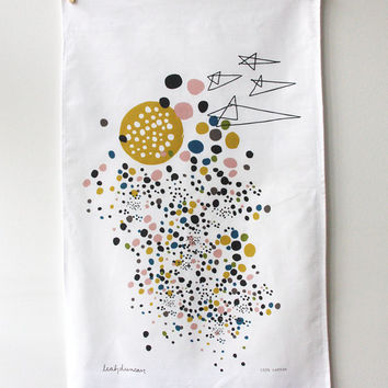 Outer Space Tea Towel