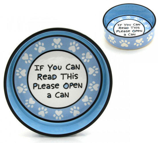 OPEN A CAN PET BOWL