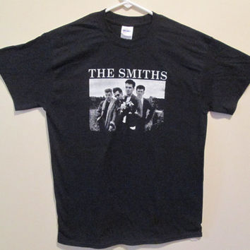 The Smiths T-shirt ~~FREE SHIPPING~~ Morrissey Johnny Marr Stone Roses Blur Ride
