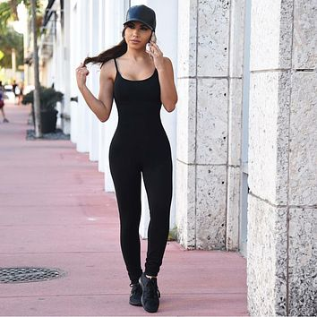 Rompers Womens Jumpsuit 2016 Sexy Bodycon Club Long Sleeve American Apparel Bodysuit Black Mesh Ladies Jump Suit Combinaison