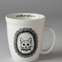 FRAMED CAT MUG