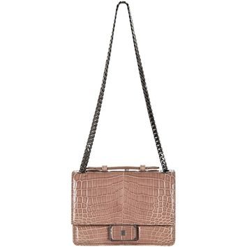 Analeena Mini Crocodile Varese Bag Nude | Harrods.com