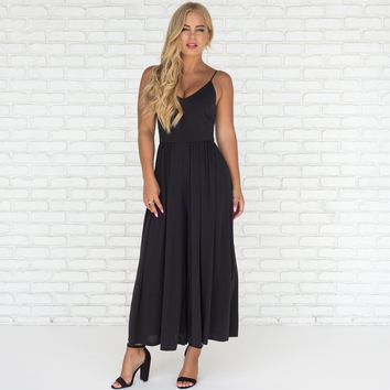 Airy Fairy Jumpsuit in Black