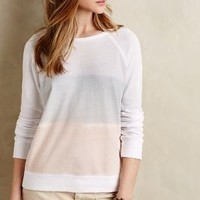 Stripefade Sweatshirt by Sundry Ivory