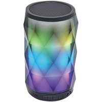 SYLVANIA(R) SP681 Portable Bluetooth(R) Diamond Speaker with Color-Changing Lights & Touch Control