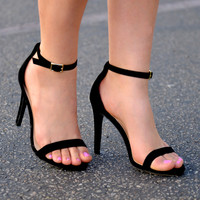 The New Obsession Black Heels