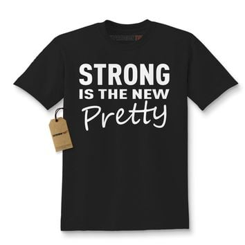Strong Is The New Pretty Feminist Kids T-shirt