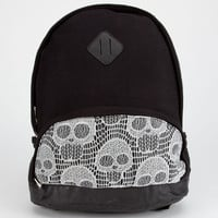 Crochet Skull Backpack Black One Size For Women 22868110001