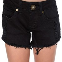 O'Neill Compass Cutoff Shorts (Toddler Girls & Little Girls) | Nordstrom