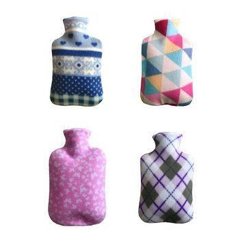 Fleece Cloth Cover For 2000ML Hot Water Bottle- 4 Colors Available