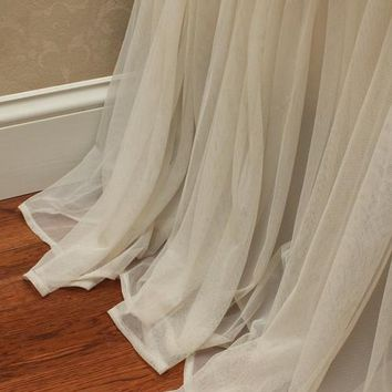Whisper Ivory Bed Skirt - Bedding | Couture Dreams