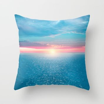 Pastel vibes 32 Throw Pillow by Viviana Gonzalez