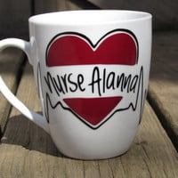 Personalized Nurse Coffee Mug, LPN Coffee Mug, RN Coffee Mug, Unique Nurse Mug