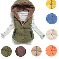 'The Samantha' Hooded Padded Jacket