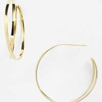 Women's Lana Jewelry 'White Night' Hoop Earrings