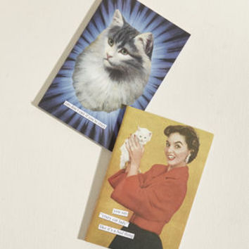 Jot It Going On Notebook Set in Cats