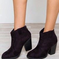 ac spbest Rebel Booties - Black
