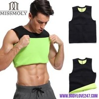 Slimming Vest Body Shaper Neoprene Abdomen Thermo Fat Burning Shaperwear